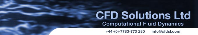 CFD Solutions Ltd Provides Services in CFD Analysis, Computer Modelling, Process Simulation and Design